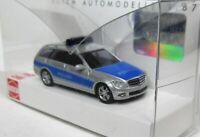 Busch 1:87 Mercedes Benz C Klasse T Modell Avantgarde OVP 43661 Polizei S 204