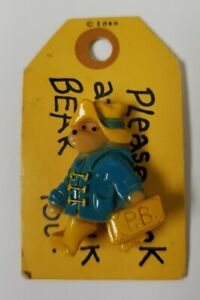 Paddington Bear Pin Please Look After This Bear New by Eden