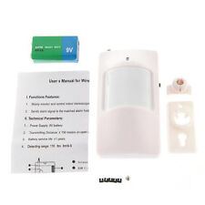 PH-WML IR PIR Sensor Wireless House Alarm GSM Burglar Adjustable Angle BT