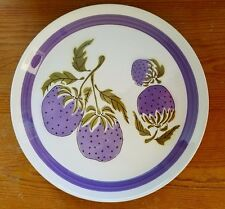 VINTAGE MIKASA DUPLEX \ PLUMBERRY\  DINNER PLATES by BEN SEIBEL RETRO ...  sc 1 st  eBay : mikasa dining plates - pezcame.com