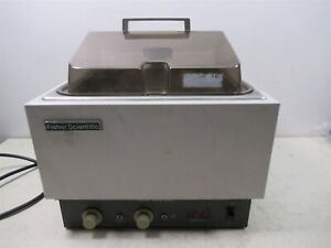Fisher Scientific Water Bath 10 Liter Heated Variable Temperature w/ Cover Lid