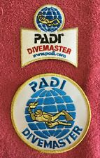 New listing Padi Divemaster Patches - 2 Total - As Pictured - Scuba Diver