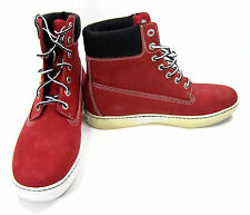 Timberland Shoes 6 Inch Premium Red/Black Boots Size 10