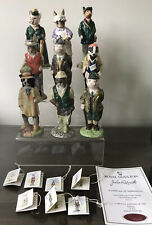 9 x BESWICK ENGLISH COUNTRY FOLK Figures - Boxed