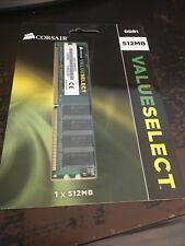 Corsair 512 MB DDR SDRAM Memory (VS512MB400)