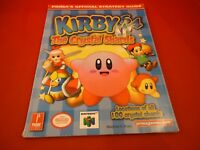 Kirby 64 The Crystal Shards Nintendo 64 N64 Strategy Guide Player's Hint Book