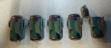 LOT OF 5 Camouflage Army Green Bic Mini Plastic Cases.
