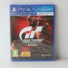 Gran Turismo Gt Sport - sony PS4 PLAYSTATION 4 Gioco - Nuovo e Sigillato