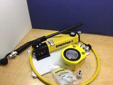 """ENERPAC RSM-500 Hydraulic Cylinder, P142 Pump 50 tons, 5/8"""" HC9206 FZ1055 🇺🇸"""
