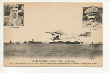 PARIS MADRID - 21 MAI 1911 LE DéPART - TRAIN ET BONNIER #46