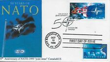 1999 #3354 NATO 50th anniversary Joint issue Canada