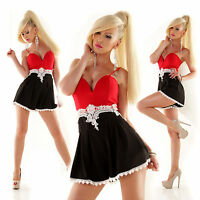Top Women's Shorts Jumpsuit Ladies Party Sexy Playsuit Lace Overall Size 6 8 10