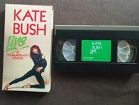 KATE BUSH Live At Hammersmith JAPAN VHS VIDEO WK048-3012H w/PS+Insert FREE S&H
