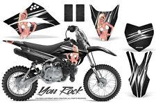 Kawasaki KLX110L KLX 110 L 2010-2017 Graphics Kit CREATORX Decals Stickers YRB