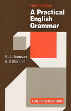 Oxford A PRACTICAL ENGLISH GRAMMAR Fourth Edition Low-Priced / Thomson Martinet