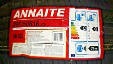 2* 205 50 R16 NEW ANNAITE premium quality HIGH MILEAGE  Tyres 2PCS