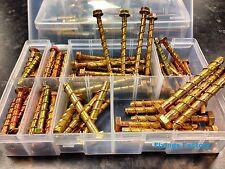 D-Bolt Masonry Anchor Kit - 85pc Thunderbolt lightning bolt - Trade Pack *LOOK*!