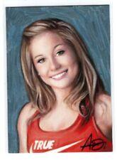 New listing 1/1 ACEO Original Sketch Card Shawn Johnson USA Olympian Gymnast
