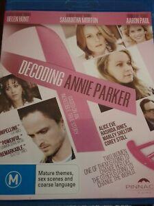 Decoding Annie Parker (Blu-ray, 2015) Based on true story Helen Hunt, Sam Morton