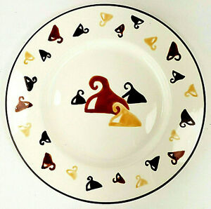 """Bath & Body Works Candle Plate Fall 1999 Chocolate Kisses 7.25"""""""