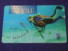 SCUBA DIVER -- New Media Tru Valu TeleCard