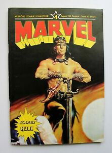 CONAN / Hulk / Marvel #04 / Yugoslavia 1982 / Buscema / Schwarzenegger - PERFECT