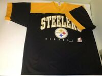 Vintage 1997 Pittsburgh Steelers Riddell Jersey Men's Sz XL Made In USA Football