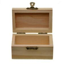 Wooden Storage Box Case for Jewel Small Gadget Gift Wood Keepsake 90x55x50mm