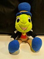 Vintage Walt Disney J.CRICKET Oficial Conscience Plush Toy-preowened