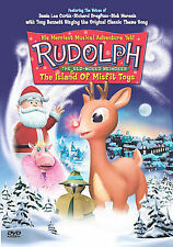 Rudolph the Red-Nosed Reindeer  the Island of Misfit Toys (DVD, 2001) BRAND NEW
