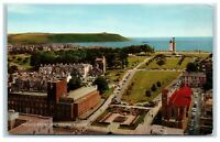 Postcard The Hoe from Civic Centre Plymouth Devon