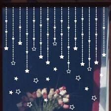 Wall Sticker adesivo Falling Stars decorazione vetrina stelle negozio Natale