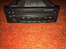OPEL Autoradio mit CD VDO Typ  CDR 500 (E) Code ist nicht vorhanden