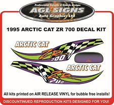 1995 Arctic Cat ZR 700 Reproduction Decal Set    graphics sticker