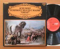 "CCV 5054 Schubert Symphony no. 9 ""Great"" Charles Munch Boston RCA Stereo NM/EX"