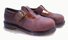 💥 Dr. Martens Doc England Rare Vintage Gaucho Steel Toe Mary Janes UK3 US5 💥