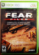 Xbox 360 Game - F.E.A.R. Files: Stand-alone Expansion Pack (2 Games in 1)