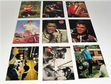 1992 THE RIVER GROUP THE ELVIS COLLECTION 9 CARD PROMO LOT