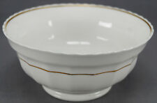 Mid 19th Century White & Gold Soft Paste Porcelain Waste Bowl Circa 1830 - 1850