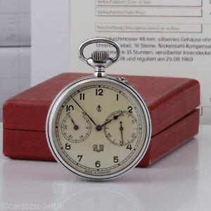 GUB Glashütte / A. Lange & Söhne Antimagnetische Marine Chronometer Original Box