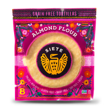 Siete - Almond Flour Paleo, Primal Tortillas - 8 per Bag