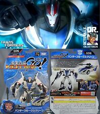 Transformers Prime RID Animated Takara Voyager Beast Hunter GO! Smokescreen New