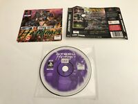 Steel Harbinger PS1 Sony Playstation black label / No Manual No Box