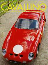 Cavallino Dec 99/ Jan 00 #114 - Ferrari 330 LMB, 360 Modena, 166 MM, Squalo