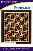 Brownstone Quilt pattern - cozy Quilt Design