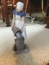 B&G Bing & Grondahl Milk Maid made and signed by Axel Locher