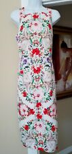 MAGGY LONDON Floral Print Dress Sleeveless Size 12 ~ Brand New w/tags attached ~