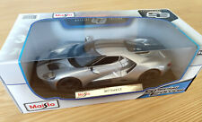 SE Maisto 2017 Ford GT 1:18 Diecast NEW in BOX 1/18 Silver GT 40 GT40