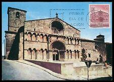 SPAIN MK 1966 SORIA ST. DOMINGO CHURCH KIRCHE CARTE MAXIMUM CARD MC CM ce98