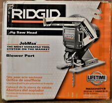 Ridgid JobMax Jigsaw Head Cordless Cutting Attachment R82234071B